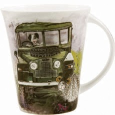 Alex Clark Vehicles Landrover Land Rover Mug-0