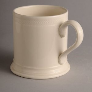 Hartley Greens Leeds Pottery Hunslet Footed Mug-0