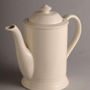 Hartley Greens Leeds Pottery Hunslet Coffee Pot-0
