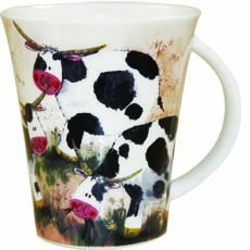Alex Clark Farmyard Cow Mug -0