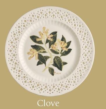 Leeds Pottery Clove Plate -0
