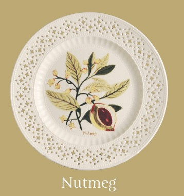 Leeds Pottery Nutmeg Plate-0