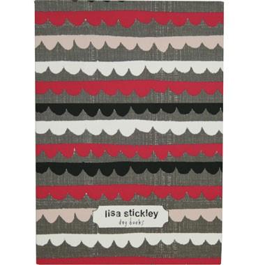 Lisa Stickley Witty Notebook Round Collar Fuchsia -0