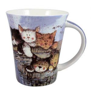 Alex Clark Cats Kittens Mug-0