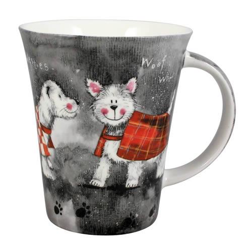 Alex Clark Dogs Westie Mug-0