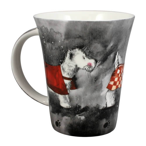 Alex Clark Dogs Westie Mug-1130