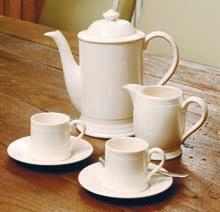 Hartley Greens Leeds Pottery Hunslet Coffee Pot-3405