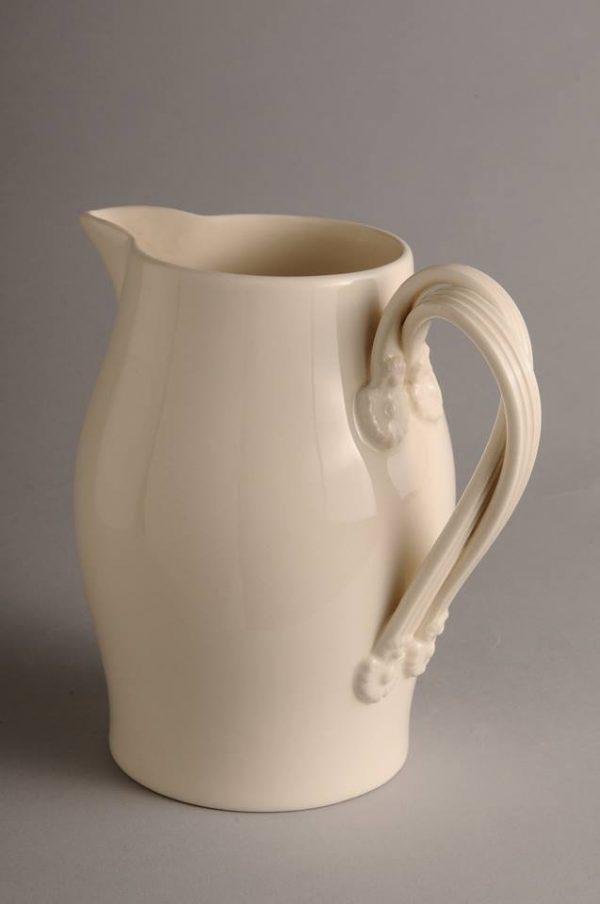 Hartley Greens Leeds Pottery Medium Twisted Handle Jug-0