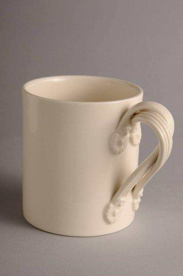 Hartley Greens Leeds Pottery Small Twisted Handle Mug-0