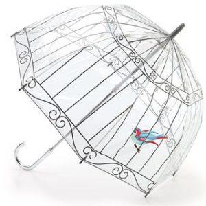 Lulu Guinness Bird in a Birdcage Umbrella-0