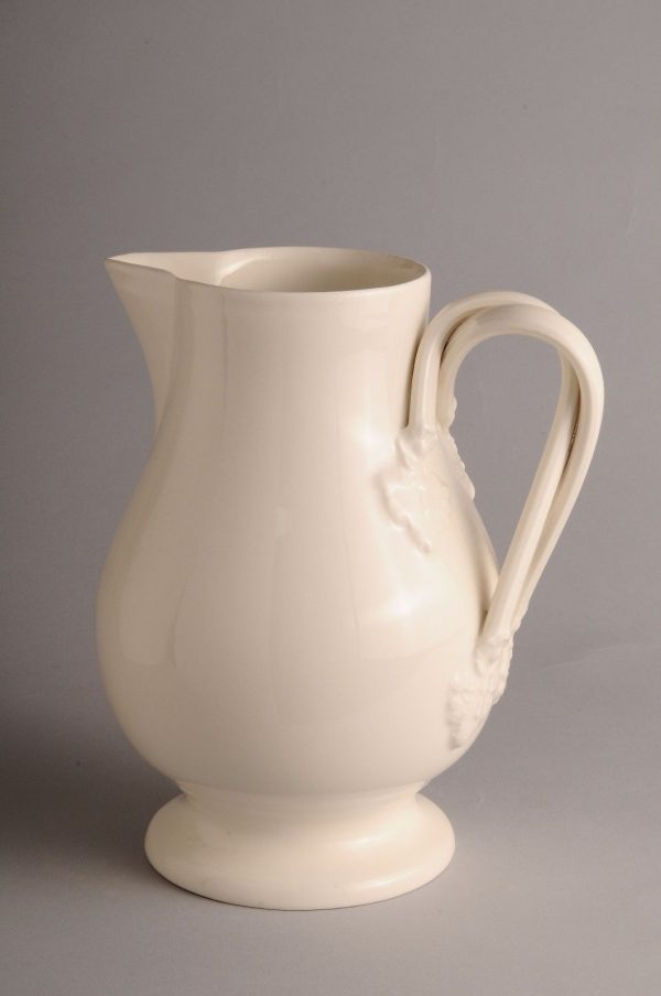 Hartley Greens Leeds Pottery Milk Jug-0