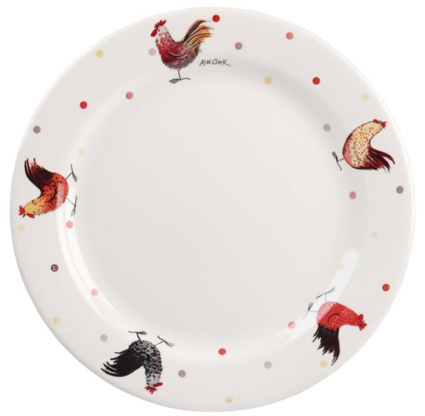Alex Clark Rooster Dinner Plate -0