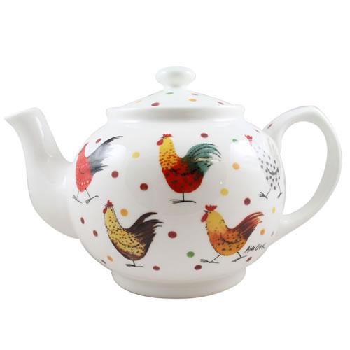 Alex Clark Rooster Teapot -0