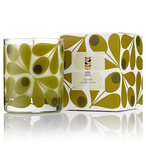 Orla Kiely Fig Tree Scented Candle-0