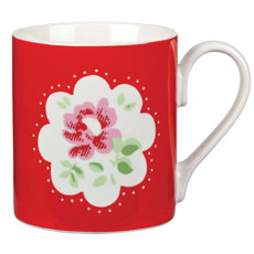 Cath Kidston Provence Placement Red Larch Mug-0