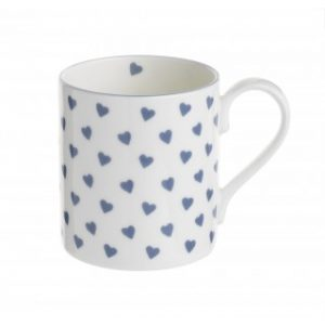 Nina Campbell Blue Hearts Mug -0