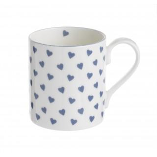 Nina Campbell Blue Hearts Mug -0
