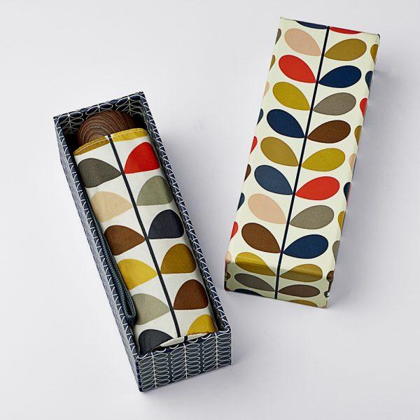 Orla Kiely Multistem Gift Boxed Umbrella -0