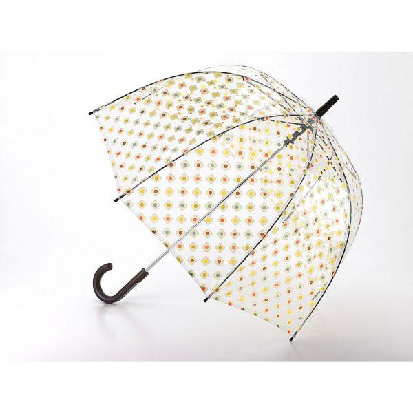 Orla Kiely Multi Flower Check Birdcage Umbrella-0
