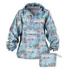 Cath Kidston London Print Cag Cagoule In A Bag-0