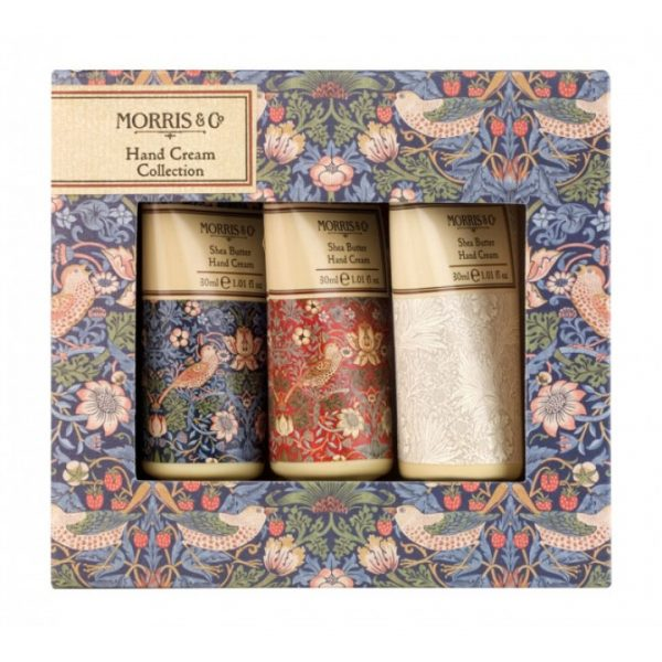 William Morris & Co Strawberry Thief Set Of 3 Hand Cream Collection 3 x 30ml -0