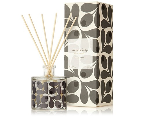 Orla Kiely Earl Grey Scented Reed Diffuser Gift Boxed 200ml-0