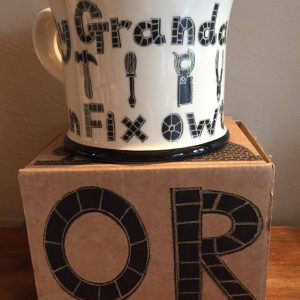 Moorland Pottery My Grandad Can Fix Owt Mug Gift Boxed-0