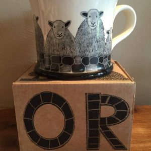 Moorland Pottery Herdwick Sheep Mug Gift Boxed-0