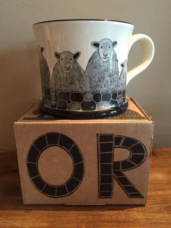 Moorland Pottery Herdwick Sheep Mug Gift Boxed-0