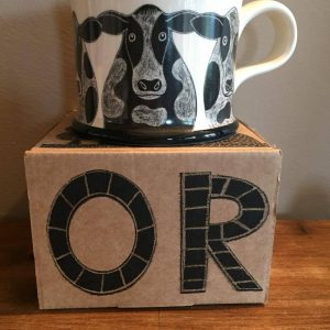 Moorland Country Cow Mug Gift Boxed-0