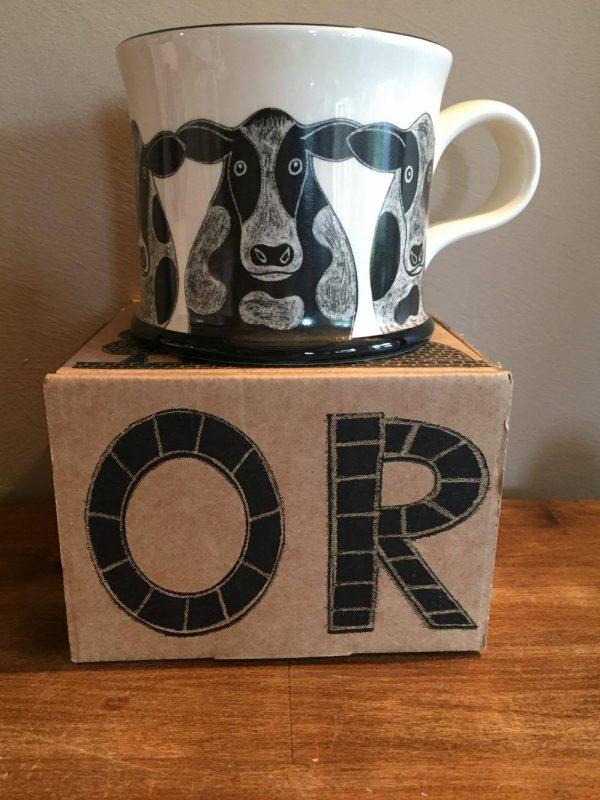 Moorland Country Cow Mug Gift Boxed-0