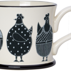 Moorland Pottery Chicken Mug