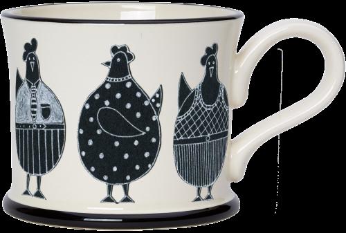 Moorland Pottery Chicken Mug
