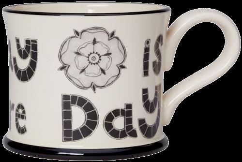 Moorland Pottery Everyday is Yorkshire Day Mug