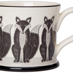 Moorland Pottery Fox Mug