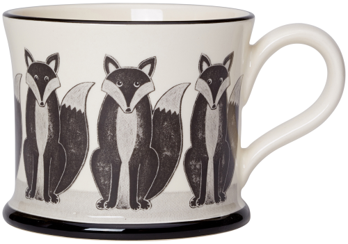 Moorland Pottery Fox Mug