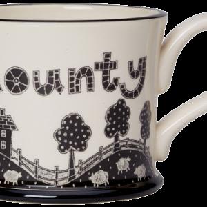 Moorland Pottery Gods Own County Mug