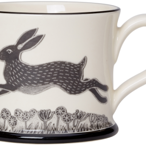 Moorland Pottery Hare Mug
