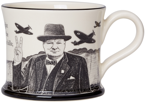 Moorland Pottery Churchill Mug