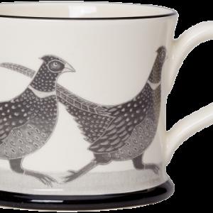 Moorland Pottery Pheasant Mug