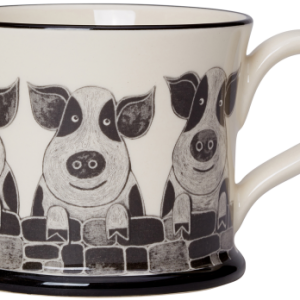 Moorland Pottery Pig Mug