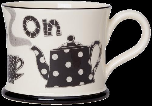 Moorland Pottery Put Kettle on Mug