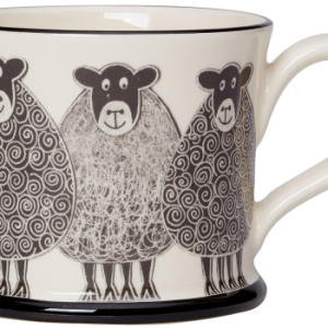 Moorland Pottery Sheep Mug