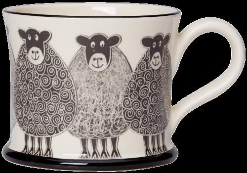 Moorland Pottery Sheep Mug