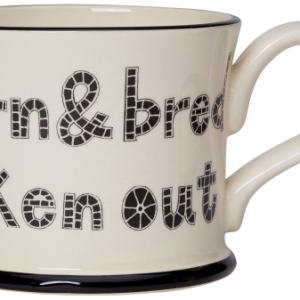 Moorland Pottery Yorkshire Born and Bred Mug