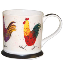 Alex Clark Cockeral Rooster Chicken Mug-0