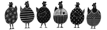 Moorland Pottery Chicken Mug Gift Boxed-1030