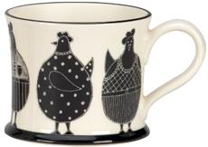Moorland Pottery Chicken Mug Gift Boxed-1029