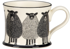 Moorland Pottery Sheep Mug Gift Boxed-1031