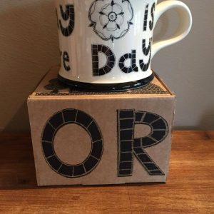 Moorland Pottery 'Every Day Is Yorkshire Day' Gift Boxed Mug-0